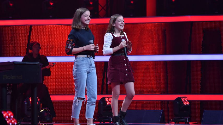 """Mimi und Josi auf der """"The Voice Kids""""-Bühne"""