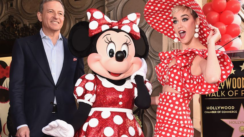 Minnie Mouse und Katy Perry, Hollywood 2018