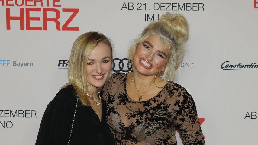 Schöne Familie: Sarina Nowak stellt ihre Schwester Miora vor