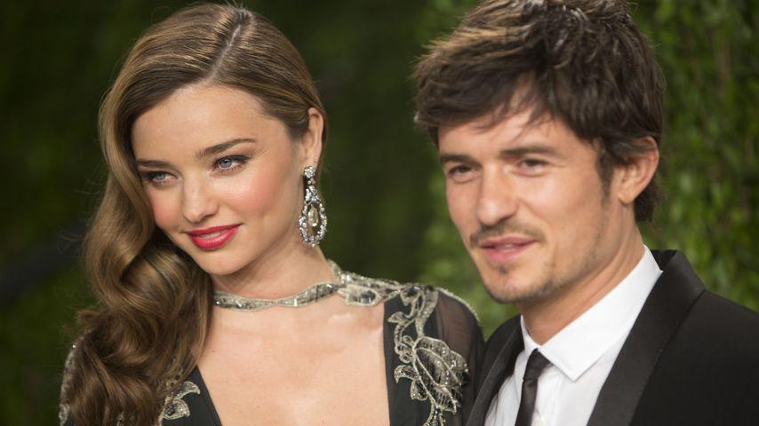 Küsschen: Orlando und Miranda haben sich noch gern