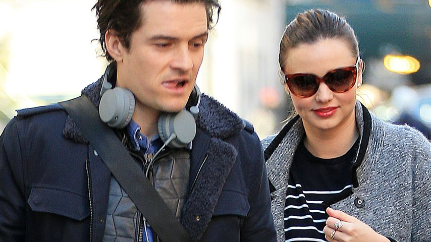 Orlando Bloom & Miranda: Scheidung in Planung