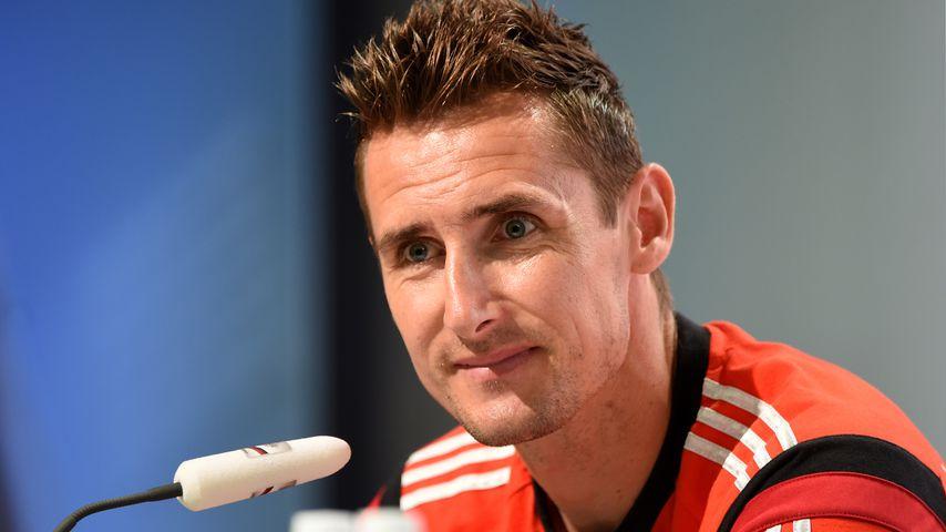 Miroslav Klose bei der Fußball-Weltmeisterschaft 2014 in Rio de Janeiro