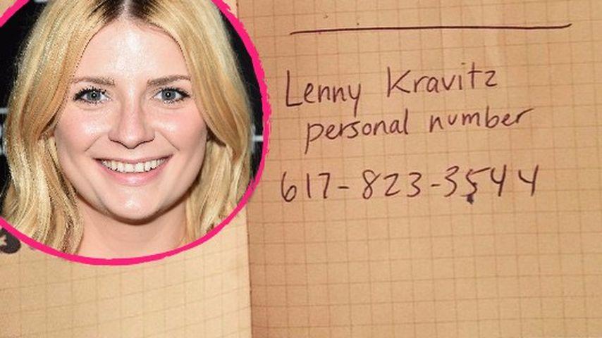 Echt jetzt? Mischa Barton postet Lenny Kravitz' Nummer
