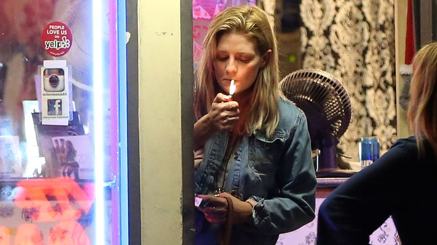 Mischa Barton am Sunset Strip