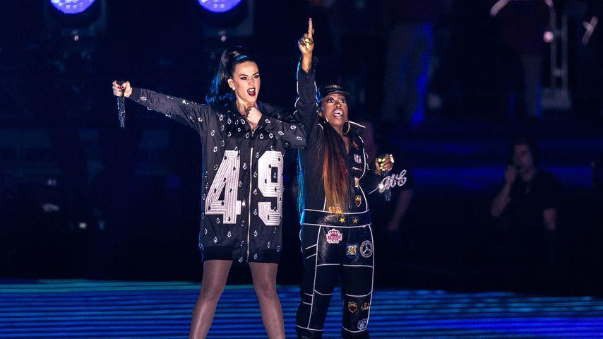 Katy Perry und Missy Elliott