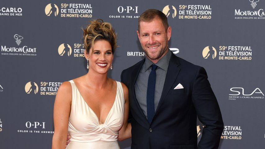 Missy Peregrym und ihr Mann Tom Oakley beim Filmfestival in Monte Carlo