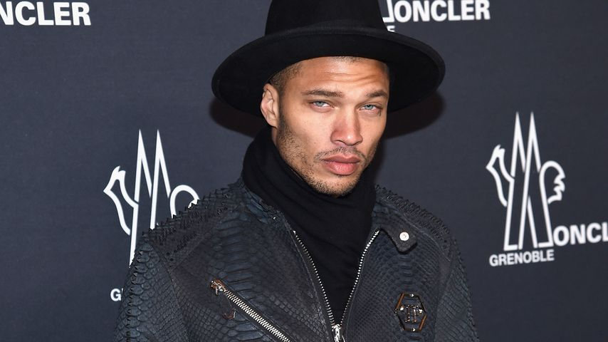 Model Jeremy Meeks auf der New York Fashion Week 2017