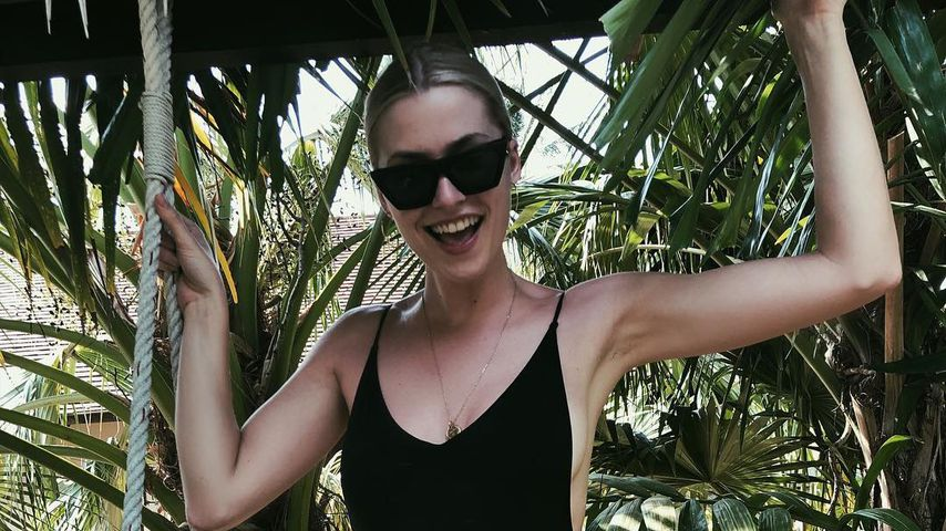 Model Lena Gercke im Urlaub in Thailand