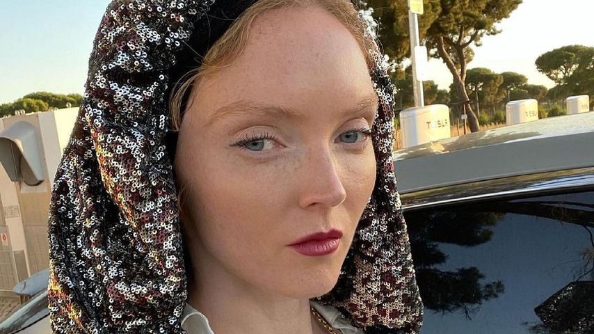 Model Lily Cole im Juni 2021