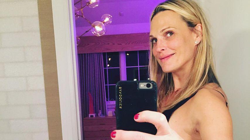 Molly Sims megaschwanger: Jeden Tag kann es so weit sein!