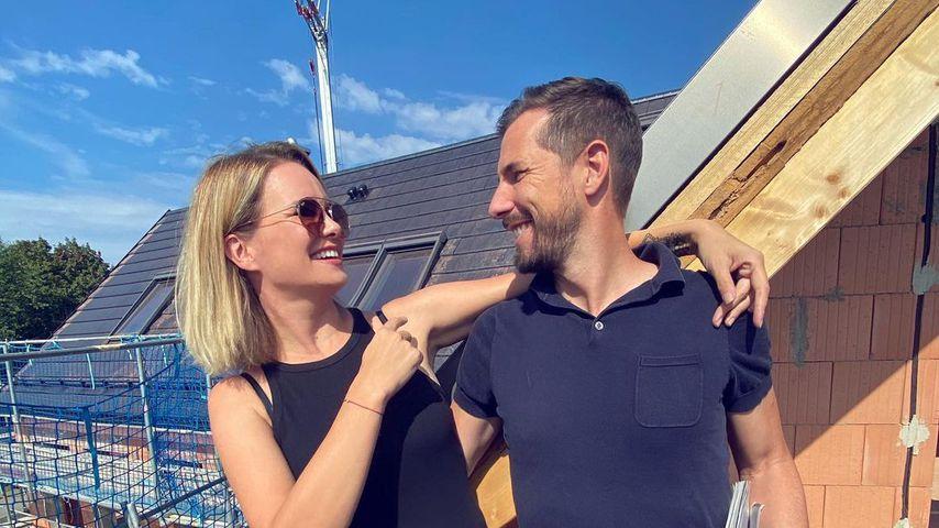 Monica Ivancan und Christian Meier im September 2020