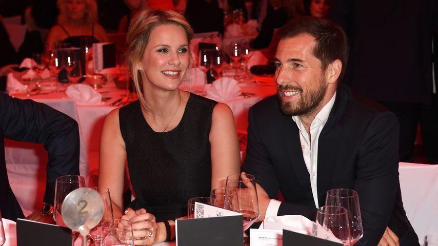 Monica Ivancan und ihr Mann Christian in München im Jahr 2015