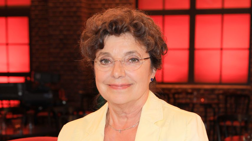 "Monika Baumgartner bei der Sendung ""Kölner Treff"""