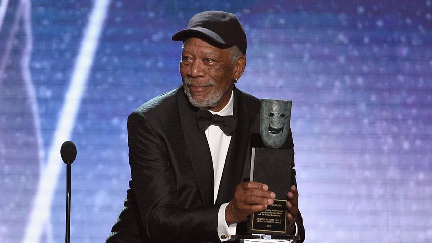 Morgan Freeman bei den SAG Awards 2018