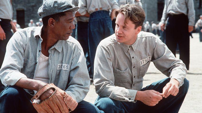 """Morgan Freeman und Tim Robbins in """"Die Verurteilten"""""""