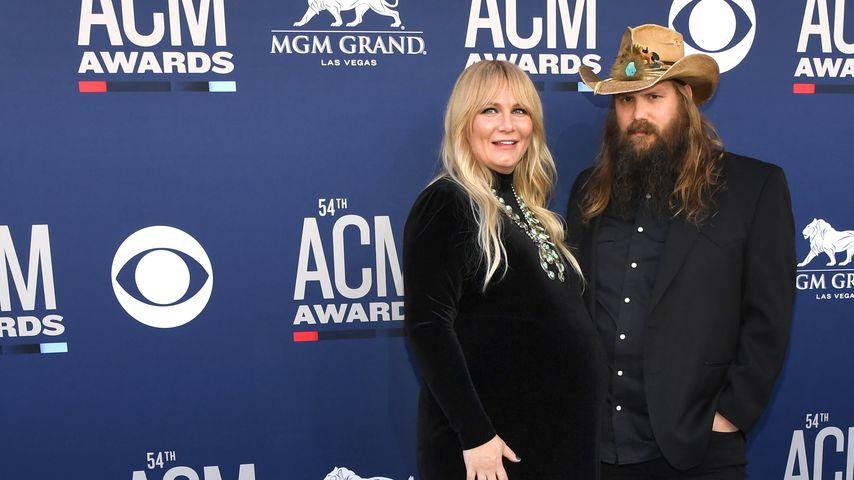 Morgane und Chris Stapleton im April 2019 in Las Vegas