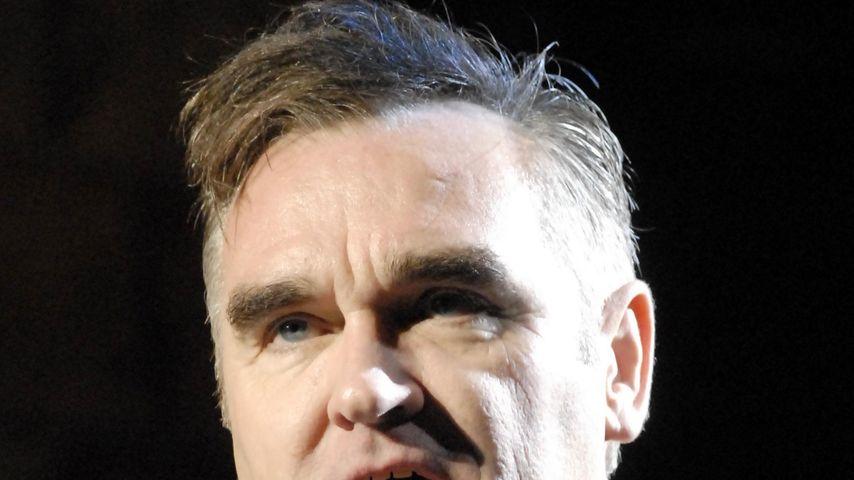 Oha! Morrissey: Vom Flughafen-Mitarbeiter sexuell belästigt!