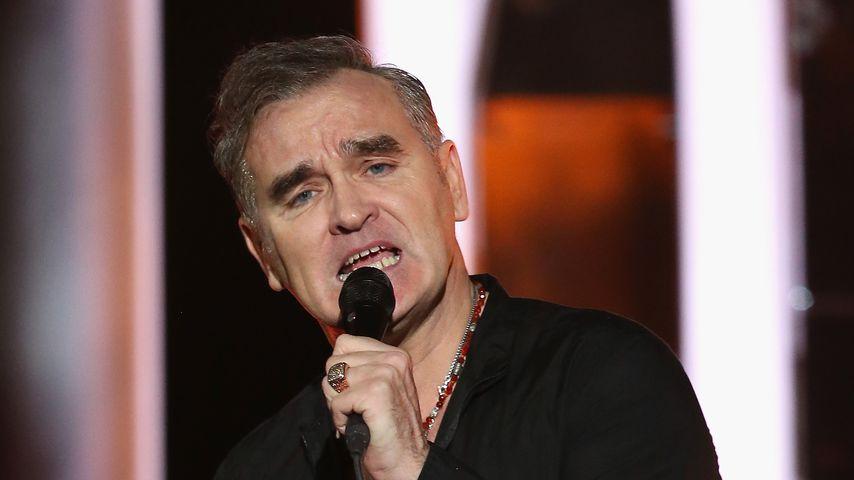 Morrissey bei einem Konzert in Oslo im Dezember 2013