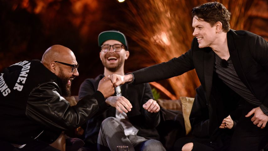 "Moses Pelham, Mark Forster und Michael Patrick Kelly bei ""Sing meinen Song"""