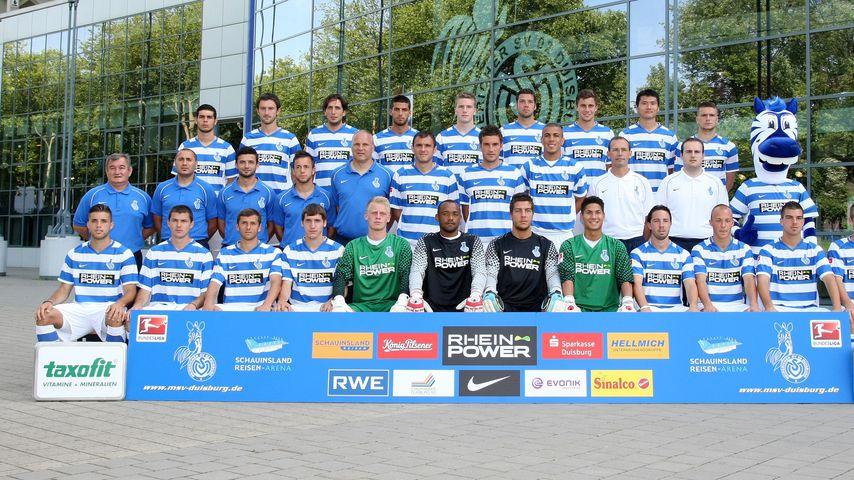 Spieler des MSV Duisburg