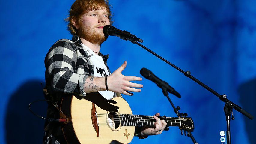 Musiker Ed Sheeran bei einem Auftritt in Australien