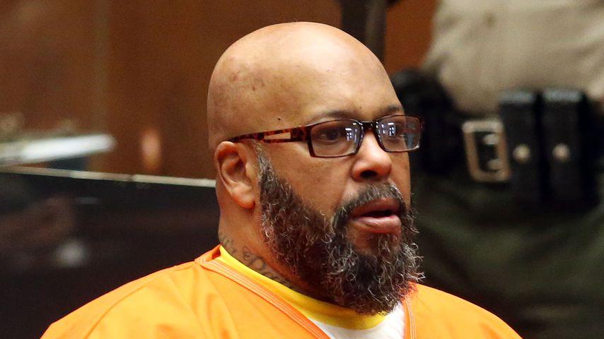 Musikproduzent Suge Knight vor dem Gericht von Los Angeles