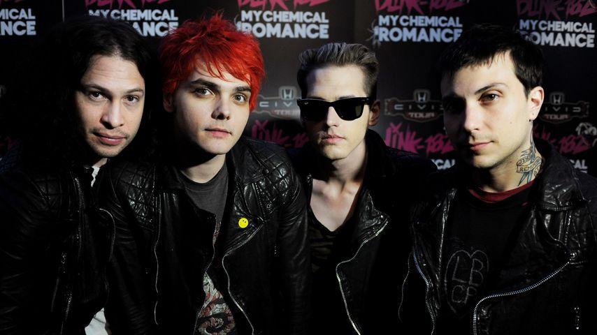 My Chemical Romance im Mai 2011