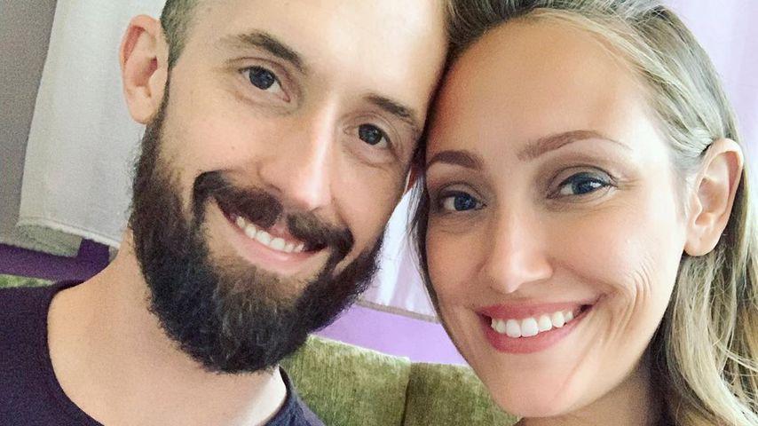 Myka Stauffer mit ihrem Mann James