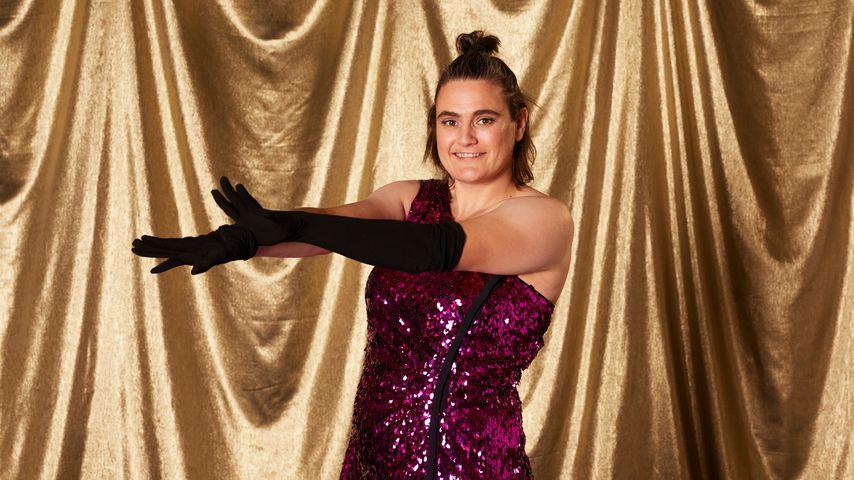"Nadine Angerer bei ""Showtime of my Life - Stars gegen Krebs"""