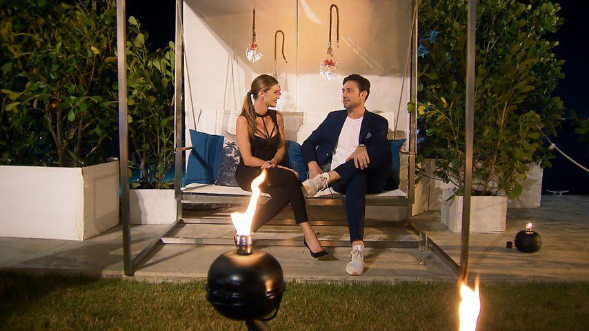 """Nadine Klein und Daniel Völz in der dritten Folge """"Der Bachelor"""""""