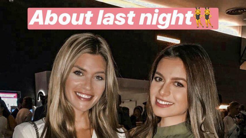 Mädelsabend: Bachelorette Nadine entspannt mit BFF Maxime