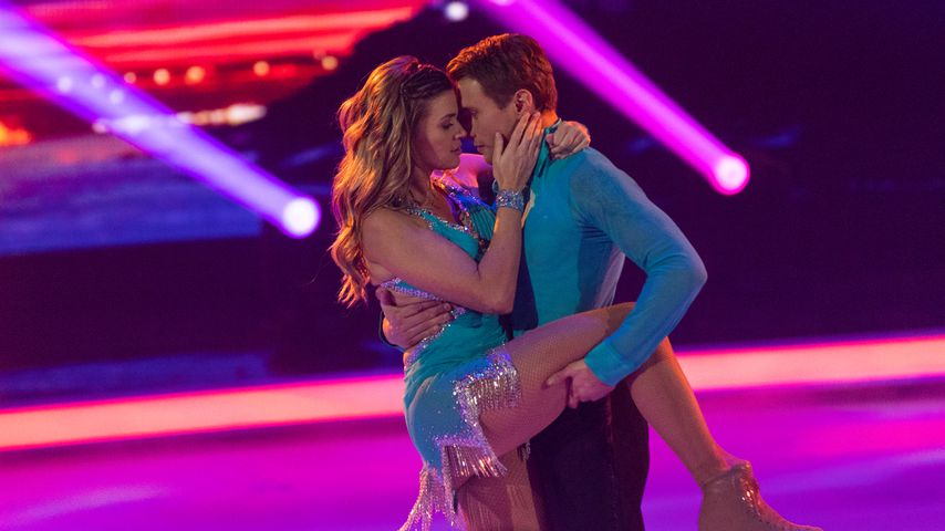 """Nadine Klein und Niko Ulanovsky bei """"Dancing on Ice"""""""