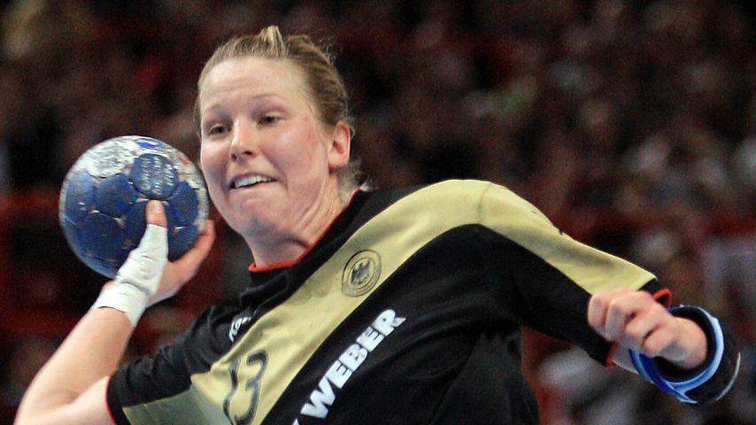 Collage: Nadine Krause, Ex-Handballerin