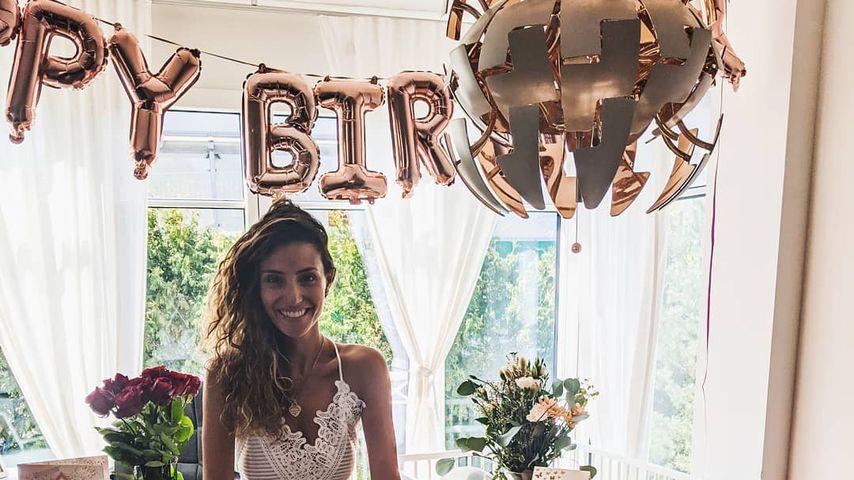 Nadine Menz an ihrem Geburtstag