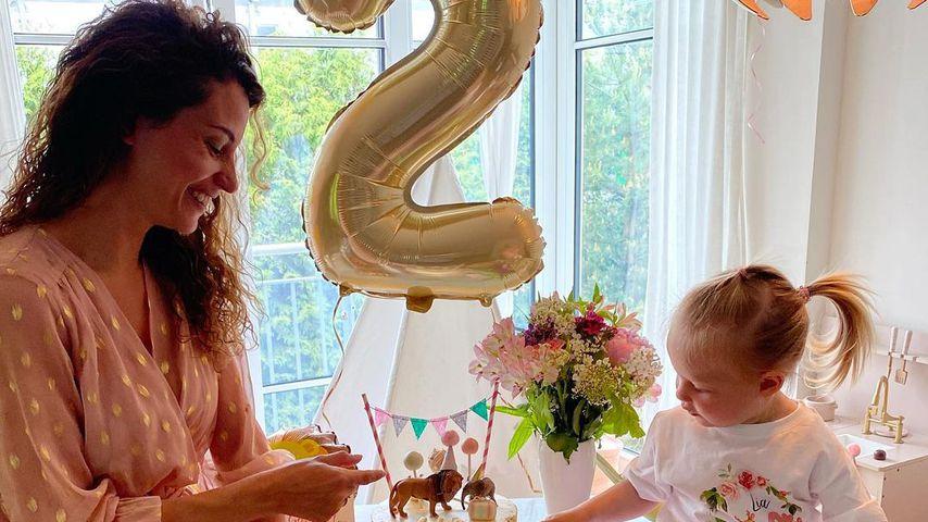 Nadine Menz happy: Ihre Tochter wird schon zwei Jahre alt!