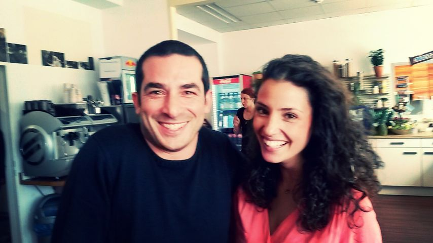 Nadine Menz und Tayfun Baydar