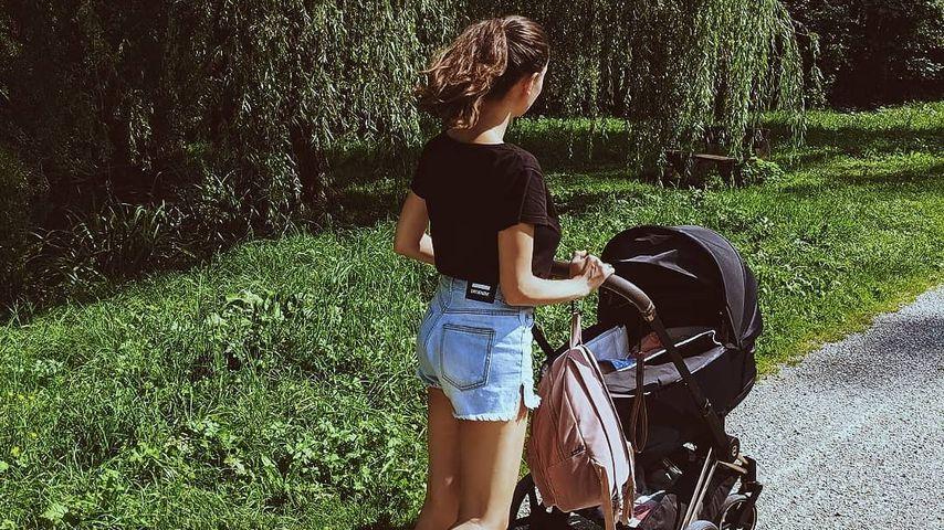 Nadine Menz und ihre Tochter
