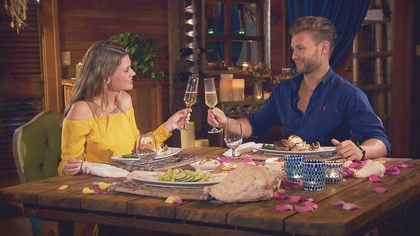 """Nadine Klein und Daniel Lott bei ihrem Dreamdate, """"Die Bachelorette"""""""