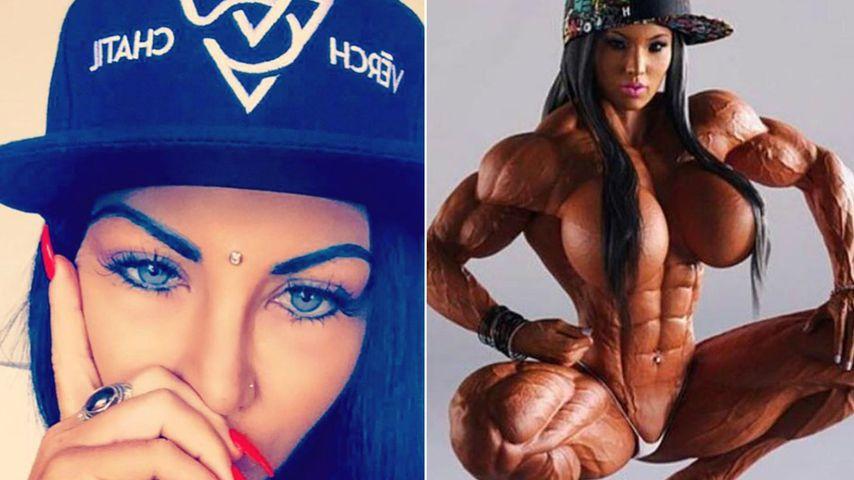 Bodybuilding-Wahnsinn: Will Model Nadinne mal SO aussehen?!