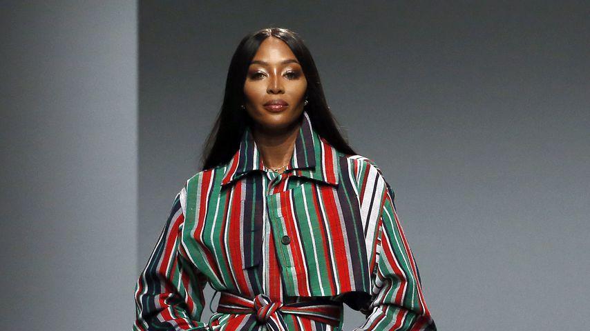Naomi Campbell im Februar 2020 in Paris bei der Fashion Week