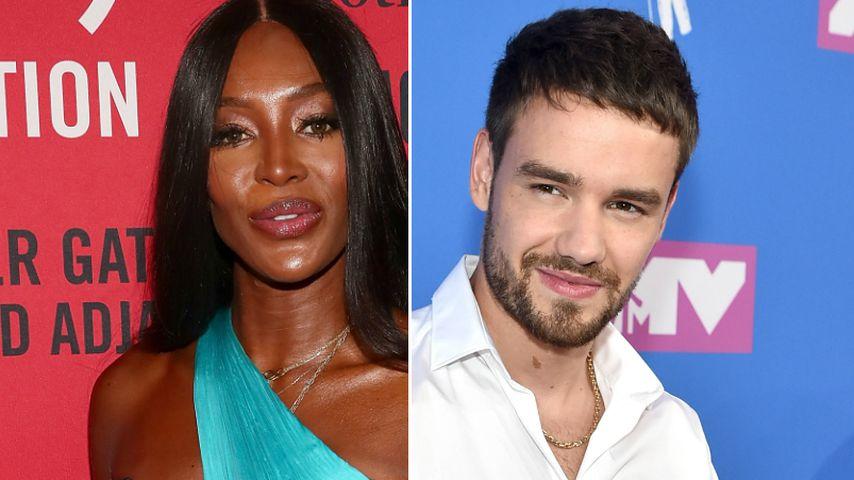 Flirt mit Naomi Campbell: Sänger Liam Payne will's wissen!