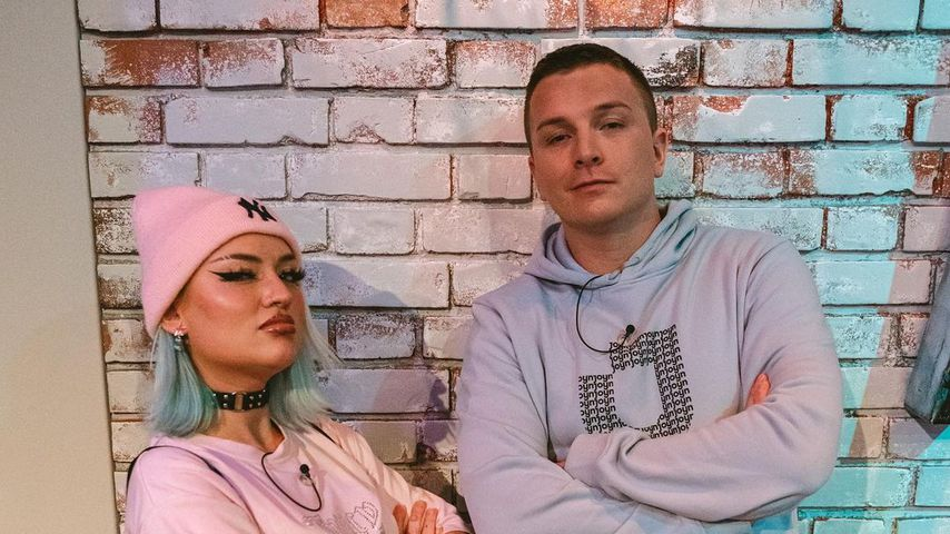 Naomi Jon und Aaron Troschke im Frühjahr 2021