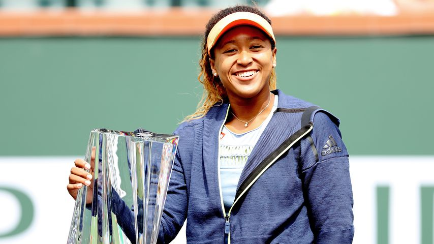 Naomi Osaka, Gewinnerin der BNP Paribas Open in Indian Wells, Kalifornien