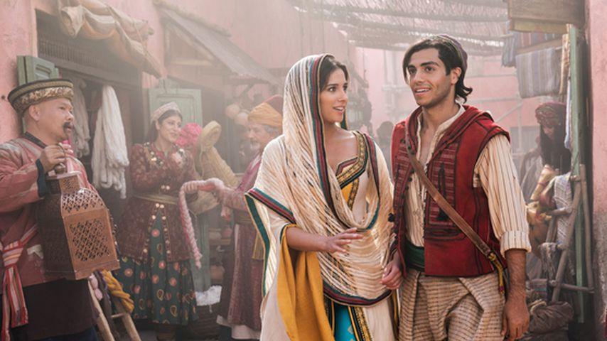 """Naomi Scott und Mena Massoud in der Realverfilmung von """"Aladdin"""""""