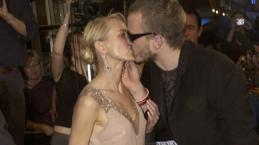 Naomi Watts und Heath Ledger in Sydney 2003