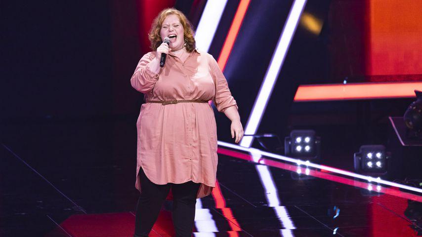 """Natalie Behnisch bei """"The Voice of Germany"""" 2020"""