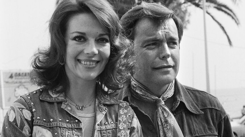 Natalie Wood und Robert Wagner, 1976 in Cannes