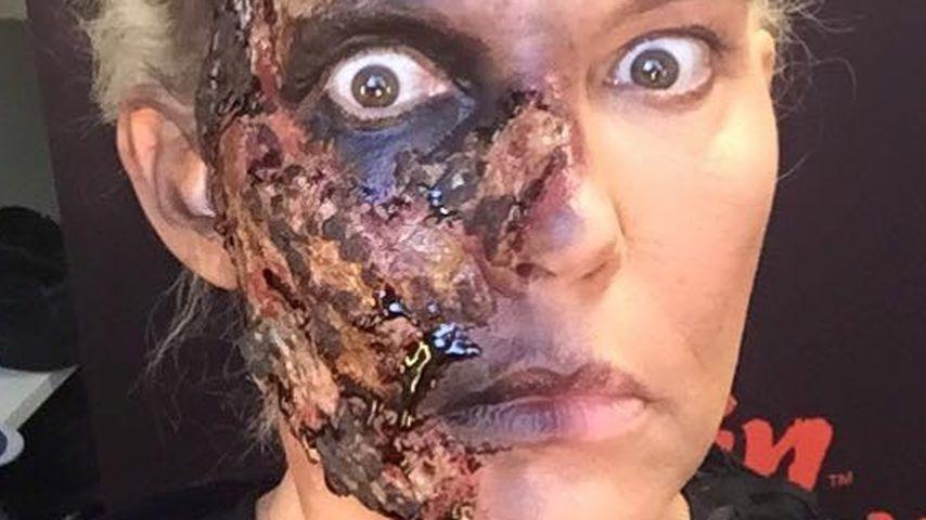 Gruselig: Natascha Ochsenknecht schockt mit Zombie-Look