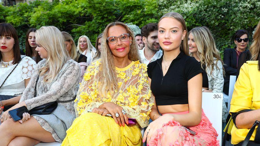 Natascha und Cheyenne Ochsenknecht bei der Berlin Fashion Week, 2019