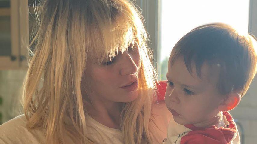 Hirn-Infektion: Natasha Bedingfields Sohn wird operiert!
